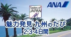 Tastes of JAPAN 魅力発見 九州のたび2・3・4日間